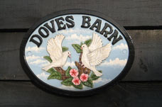 doves barn sign